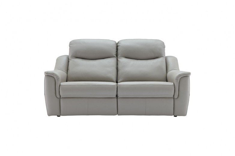 Firth Leather 3 Seater Sofa (2 Cushions)