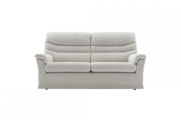 Malvern Fabric 3 Seater Sofa (2 Cushions)