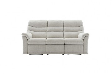 Malvern Fabric 3 Seater Recliner Sofa (Left Hand Facing)