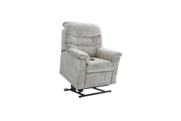 Malvern Fabric Elevate Small Chair With Dual Motor