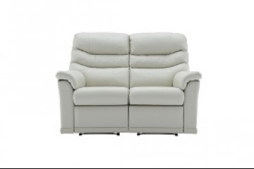 Malvern Leather 2 Seater Recliner Sofa (Left Hand Facing)