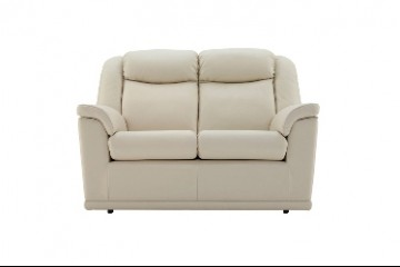 Milton Leather 2 Seater Sofa