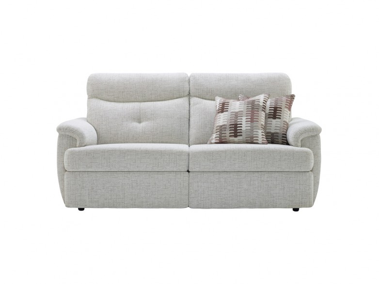 Atlanta Fabric 3 Seater Sofa (2 Cushions)