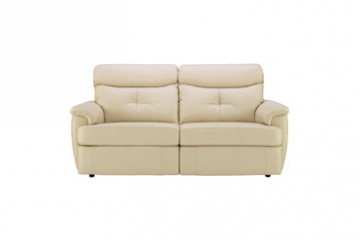 Atlanta Leather 3 Seater Sofa (2 Cushions)