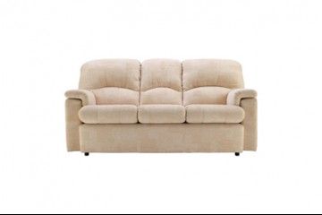 Chloe Fabric 3 Seater Sofa
