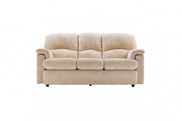 Chloe Fabric 3 Seater Small Sofa