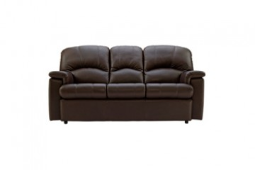 Chloe Leather 3 Seater Sofa