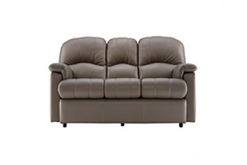 Chloe Leather 3 Seater Small Sofa