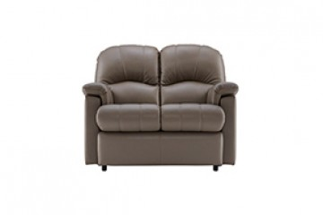 Chloe Leather 2 Seater Small Sofa