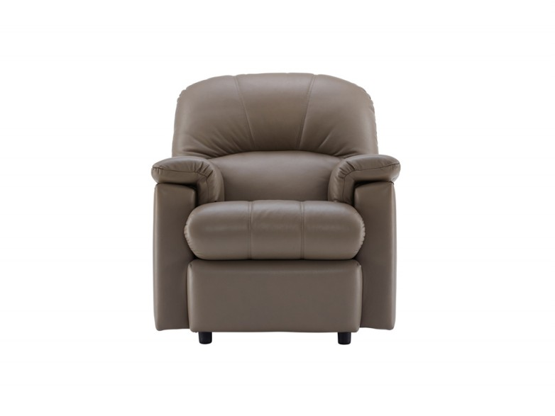 G Plan Chloe Leather Small Recliner Chair Hatters Fine