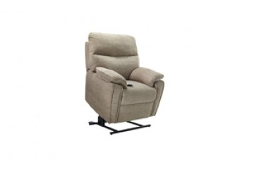 Henley Fabric Elevate Small Chair With Dual Motor