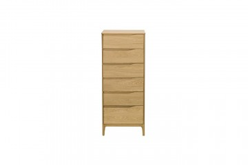 Rimini 6 Drawer Tall Chest