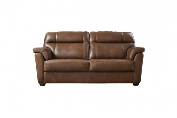 Acacia Leather 3 Seater