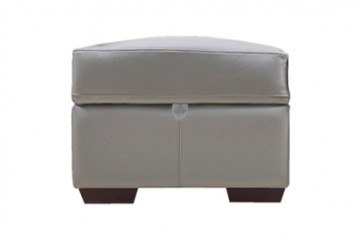 Auckland Leather Foot Stool