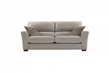 Piazza Leather 4 Seater