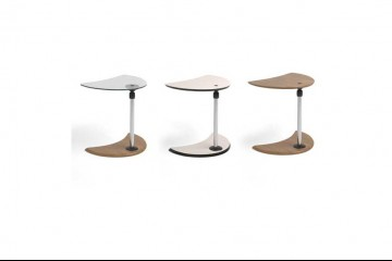 Alpha Table Glass/Beech