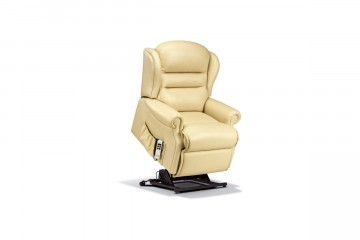 Ashford Petite Leather 'Lift & Rise' Recliner