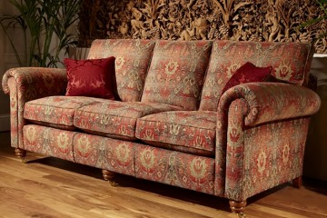 Beaminster Grand Sofa 3 Cushions Range 6 Fabric
