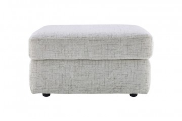 Atlanta Fabric Storage Footstool