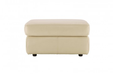Atlanta Leather Storage Footstool