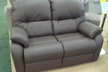 Mistral small 2 Seater Sofa In Leather