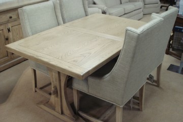 Old Charm Lichfield Extending Table & 4 Chairs