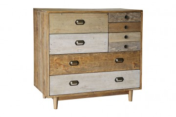 Grenier Reclaimed Pine 7 Drawer Chest