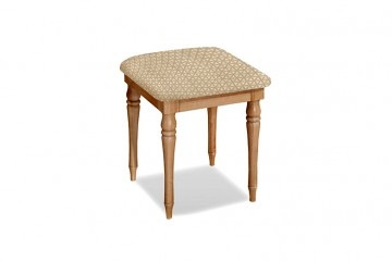Chelsea Oak Bedroom Stool - Superior Seat