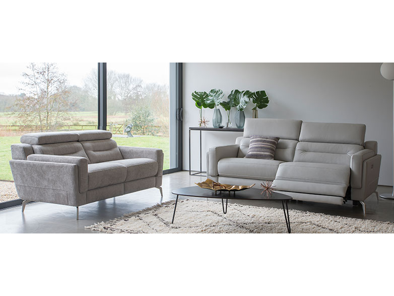1801 Large 2 Seater Sofa Double Power
