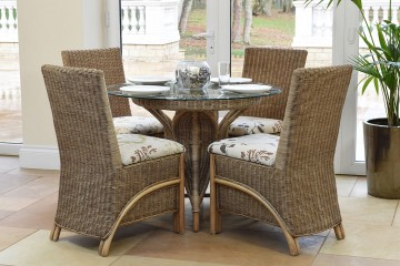 Waterford Rattan Dining Set