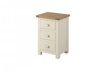 Denver Bedside Cabinet-Cream
