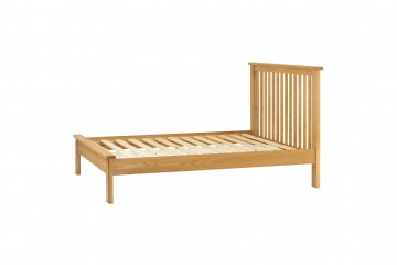Denver 4'6 Bed-Oak