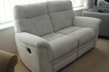 Hudson 2-Seater Double Power Recliner