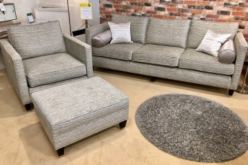 Hollywood Grand Sofa, Chair and Footstool