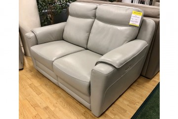 Ester Right-Side Power-Reclining 2-Seater Sofa in Leather