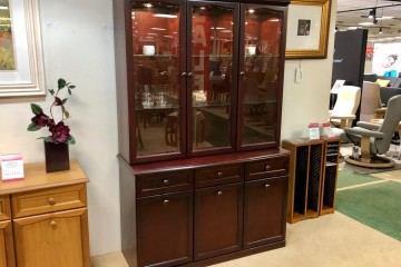 Hampton 3 Door Display Unit