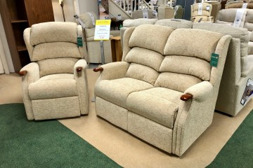 Westbury 2-Seater Sofa and Manual Recliner Chair