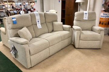 - Hertford 3-Seater Sofa and Armchair