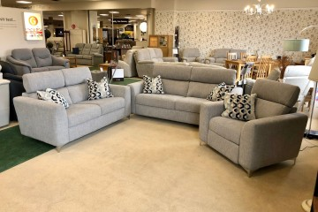 - Elite 3-Seater Sofa, 2-Seater Sofa and Power-Reclining Armchair